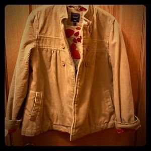 Girls corduroy GAP jacket